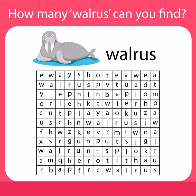 How many walrus can you find