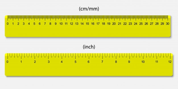 Ruler for measuring line segment